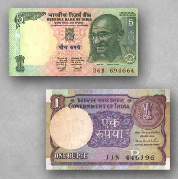 What is the difference between bank note and currency notes