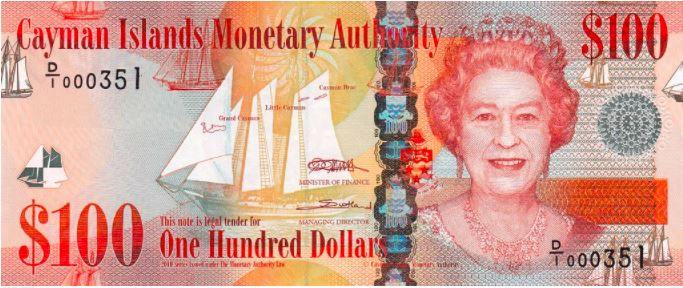 Cayman Islands has the highest currency in the Caribbean