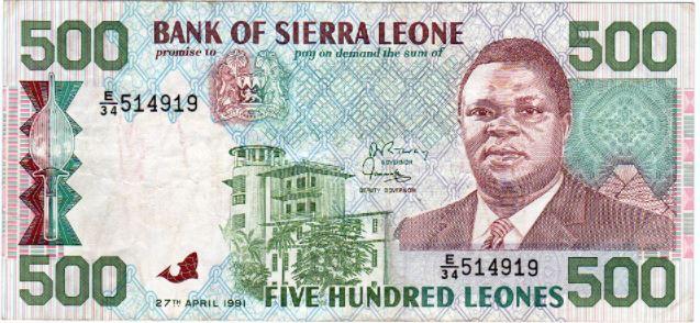 Sierra Leonean Leone